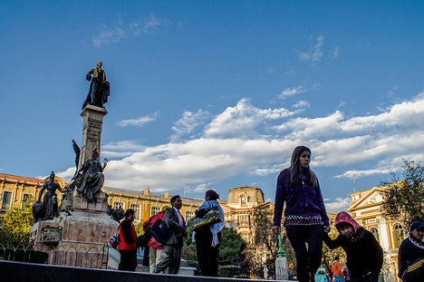 La Paz (Bolivia). Foto: David Baggins via photopin cc