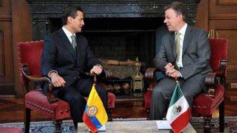 Peña Nieto y Juan Manuel Santos, dos mandatarios y dos Estados de terrorismo.