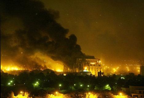 Bombardeo sobre Bagdad
