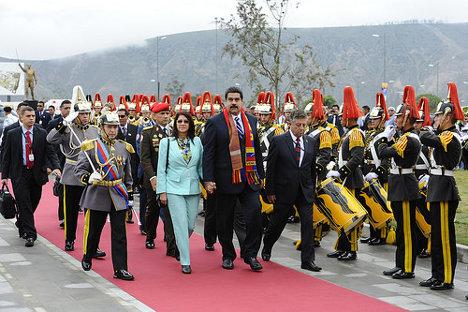 Foto: Arribo presidencial de jefes y jefas de Estado Unasur, 05 diciembre 2014 Quito. via photopin (license)