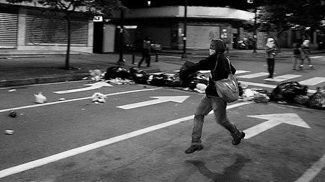 Dentro de la oposición se ha impuesto el sector más violento. Foto:: Protestas en Chacao, 2015 Ene 08 via photopin (license)