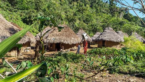 Foto: Kogi Dorf (Tairona Nachfahren) via photopin (license)