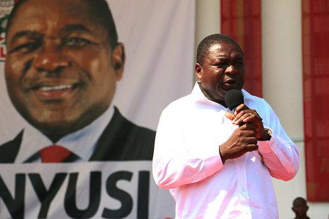 Filipe Nyusi, de Frelimo (socialista), nuevo presidente de Mozambique