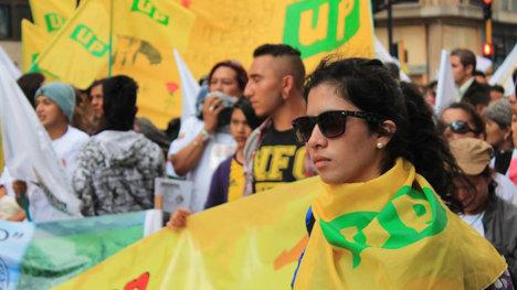 La UP le apuesta a la unidad y aspira que con ella, la izquierda conquiste el poder local. Foto Carolina Tejada.