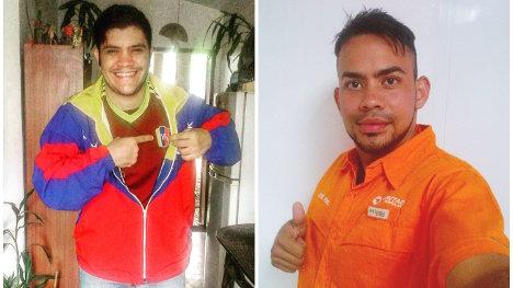 Carlos Eduardo Trejo (izquierda) y José Pérez Venta (derecha)