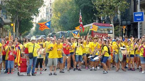 Foto: La xaranga. #11s2014: Barcelona, 11 de setembre de 2014 via photopin (license)