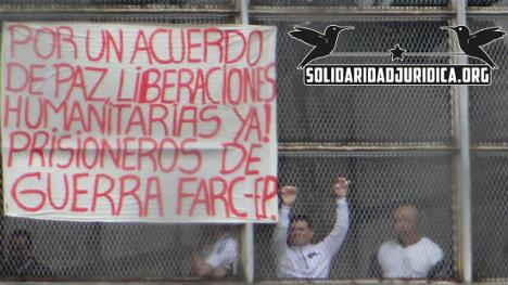 La huelga de los guerrilleros presos es una medida extrema ante la crueldad del gobierno.