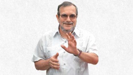 Rodrigo Londoño, alias Timochenko, actual jefe máximo de las FARC. Foto: Exclusiva Semana