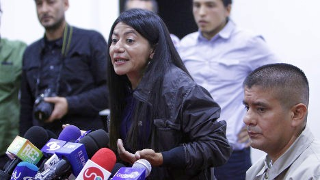 Guerillera FARC indultada