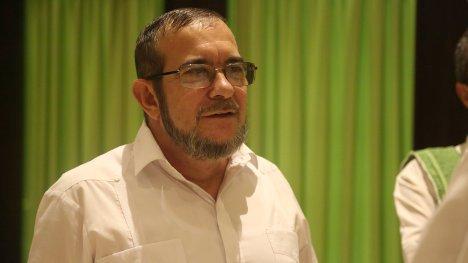 Timoleón Jiménez, comandante en Jefe del Estado Mayor Central de las FARC-EP.