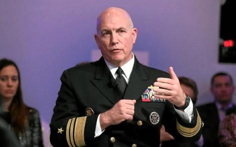 Almirante Kurt Tidd, jefe del Comando Sur de los Estados Unidos.