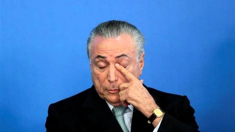 Michel Temer, presidente interino de Brasil. Reuter.