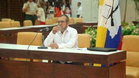 Comandante de las FARC Timoleón Jiménez.