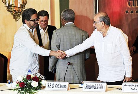Una vez firmado el Acuerdo Final será convocado el plebiscito donde el Sí en las urnas abrirá el camino a la paz estable y duradera.